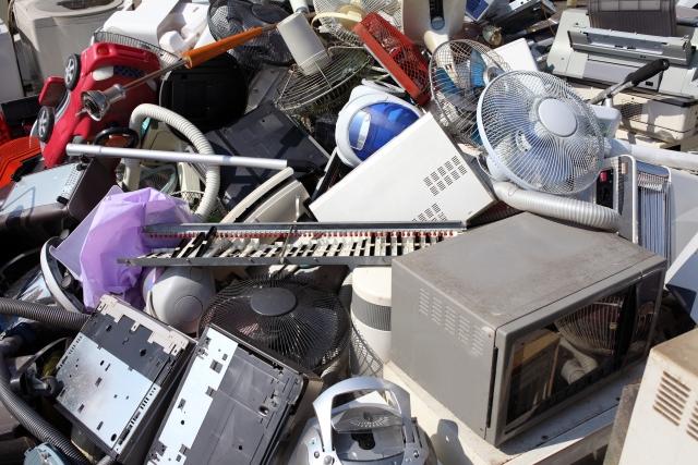 廃棄物の山