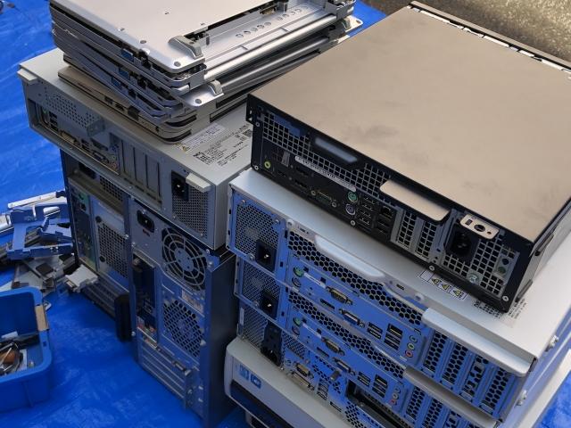 パソコンの回収